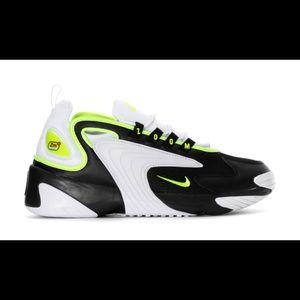 Nike Zoom 2K White, Volt, Black Size 13
